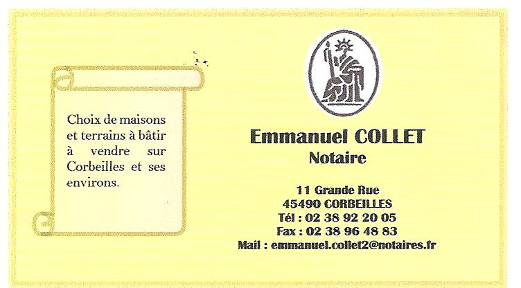 Carte professionnelle COLLET